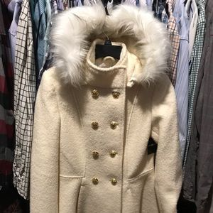 Brand New with Tags wool double breast coat